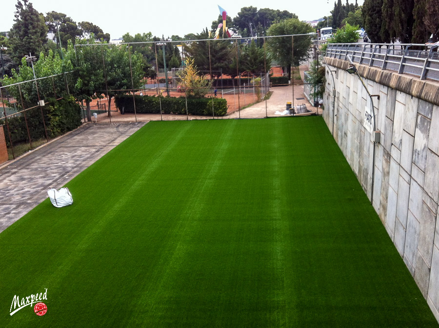 Renovación Césped Club Deportivo Hispano Francés