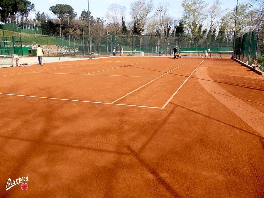Pistas de Tierra batida en Club de Tennis Girona