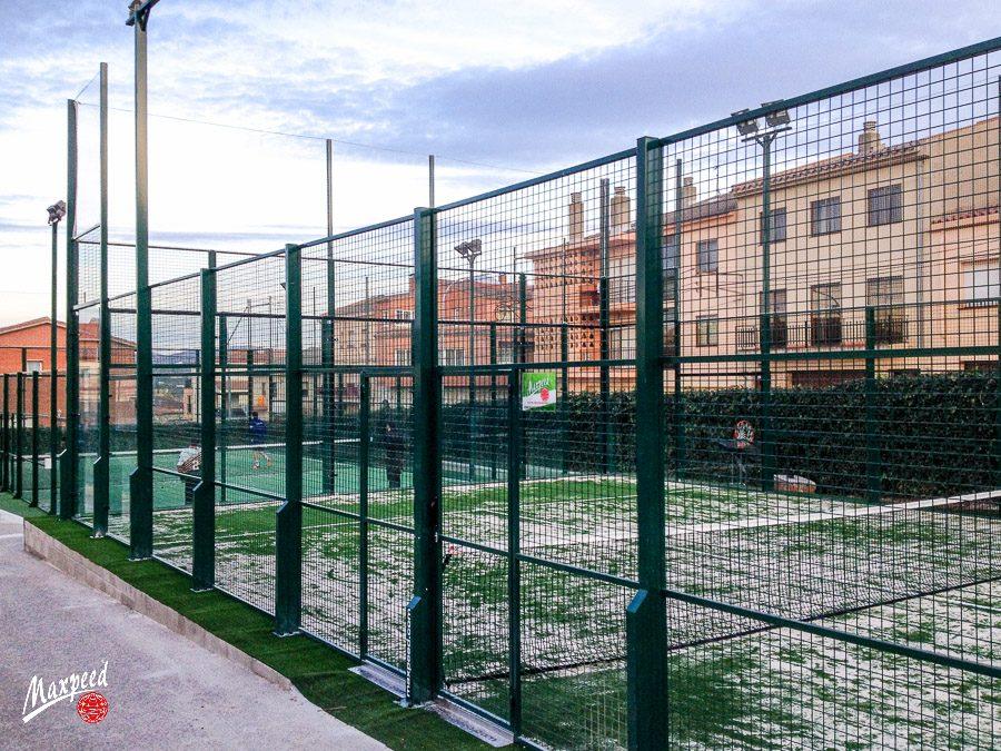 Pista de pádel del Club de Tennis Montblanc