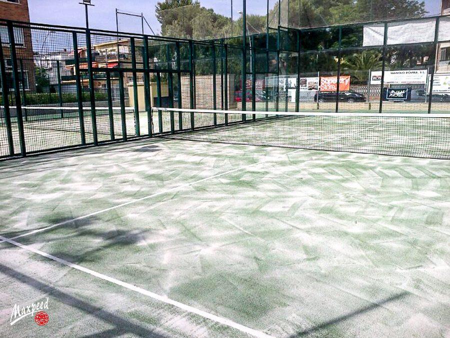 Renovación Césped Club Deportivo Gran Vía Mar