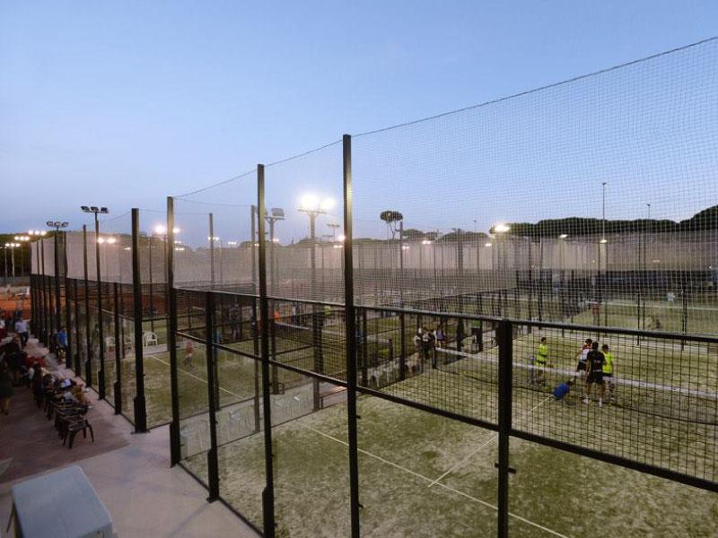 Inauguración de las pistas de pádel del CT Andrés Gimeno
