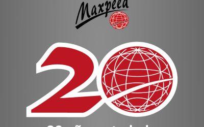 Infografía 20 Aniversario Maxpeed