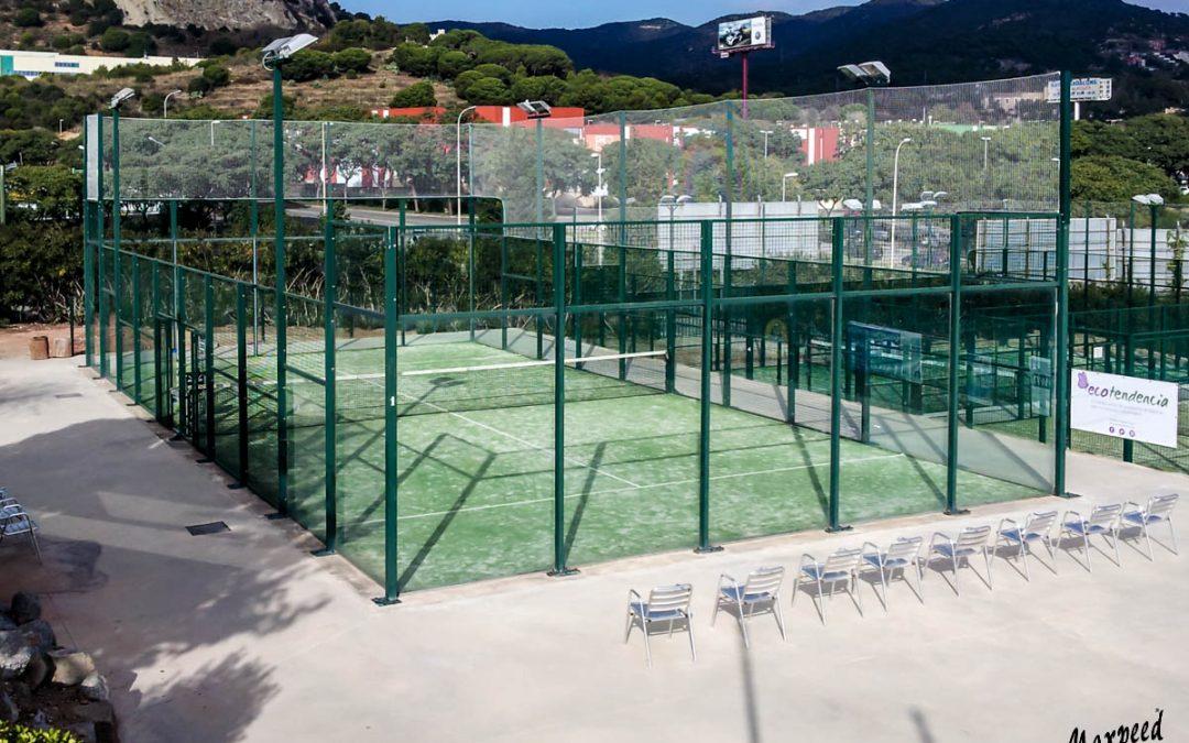 Mejora de pista de pádel en el Club Tennis Badalona