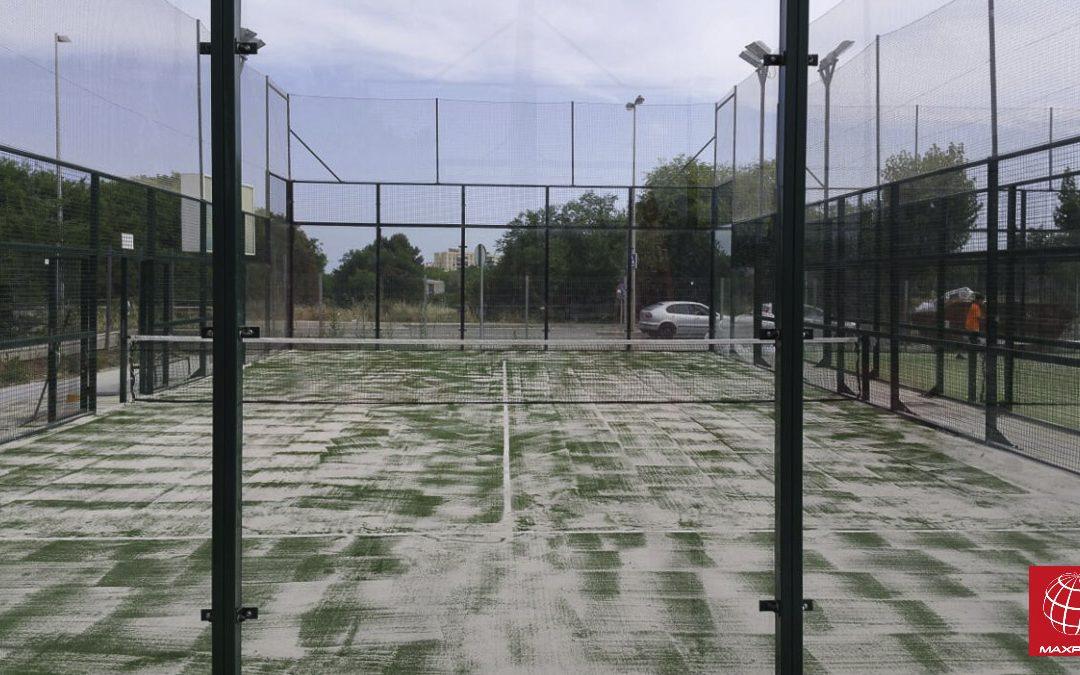 Renovación del Césped en las pistas del CP Vilanova