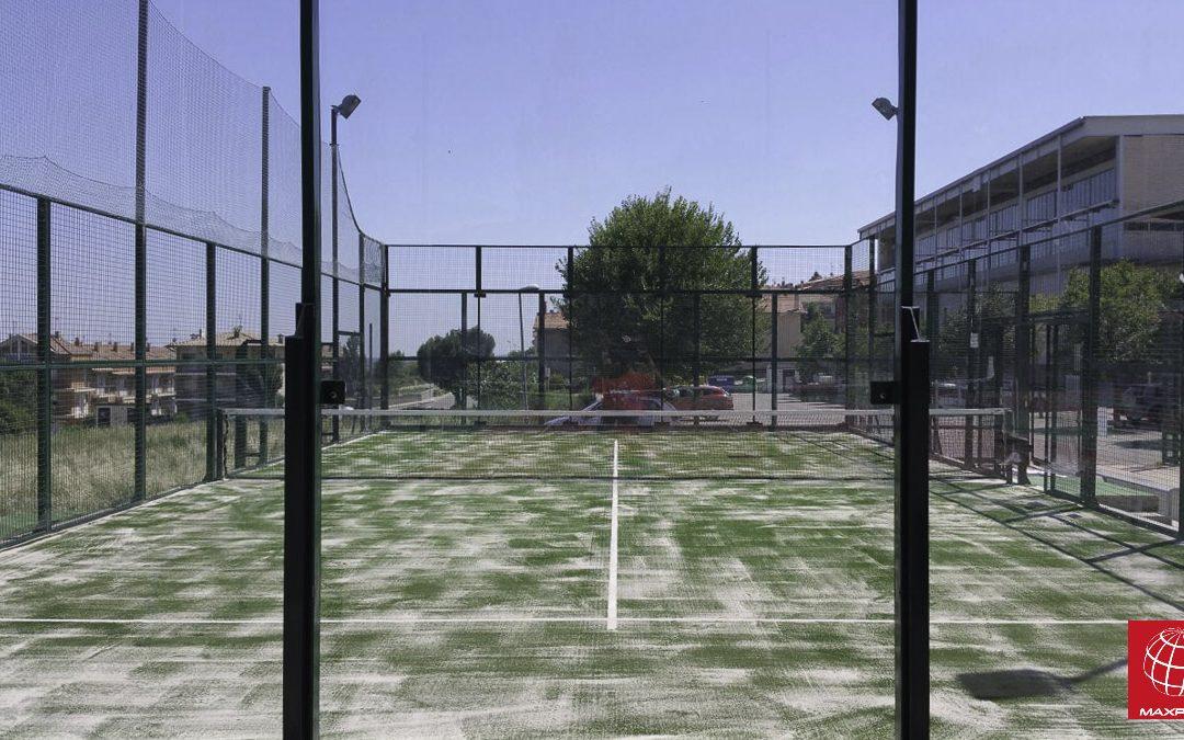 Renovación de césped de pádel en el Club de Tennis Berga
