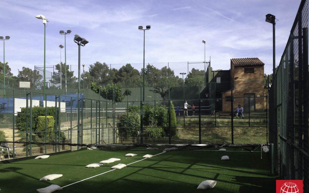 El Club Tennis Natació Sant Cugat renueva el césped de sus pistas de pádel con Poliflex 12/28