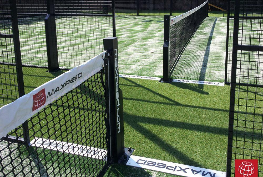 Construcción de 3 pistas de pádel MX Panorámica en Nick Spa & Sports Club
