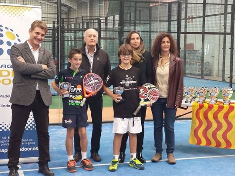 Gran papel de Npadel Competició en el Campeonato de Catalunya de Pádel de Menores