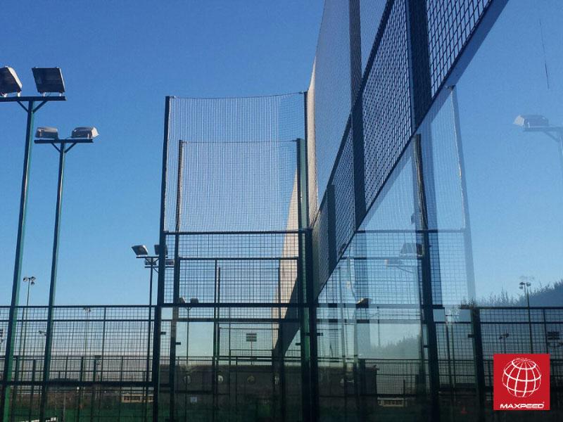 Construcción de tres pistas de pádel en el Tennis Club Badalona