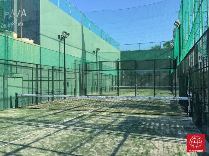 Construcción de 2 pistas de pádel en Sports La Pava
