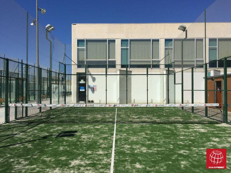 El Club Pádel Vilanova confía de nuevo en el césped para pádel Maxpeed