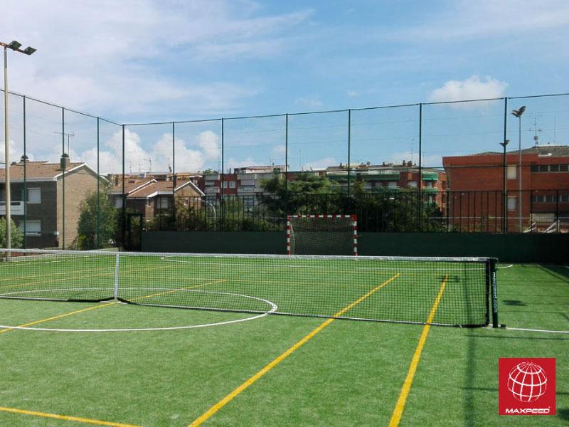 Renovación de la pista polideportiva de Jufer Viladecans
