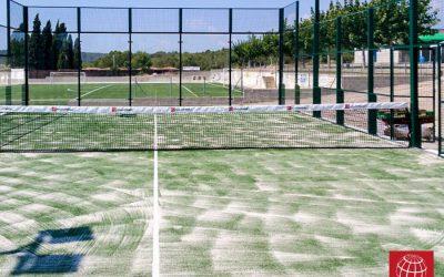 Construcción de pista de pádel en Riera de Gaià