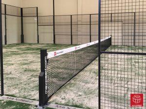 Construcción de una pista de pádel en el Padel Indoor Reus