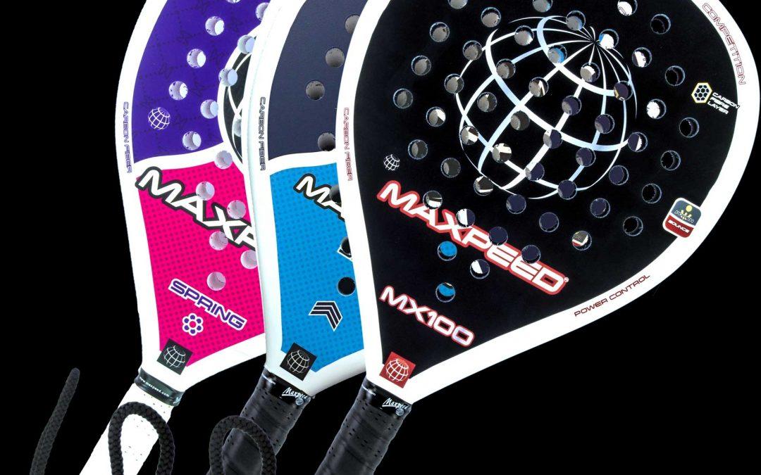 """Nuevas palas Maxpeed """"Sky"""", """"Spring"""" y """"MX100"""""""
