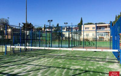 Cambio de césped pista de pádel Club de Tenis Segur