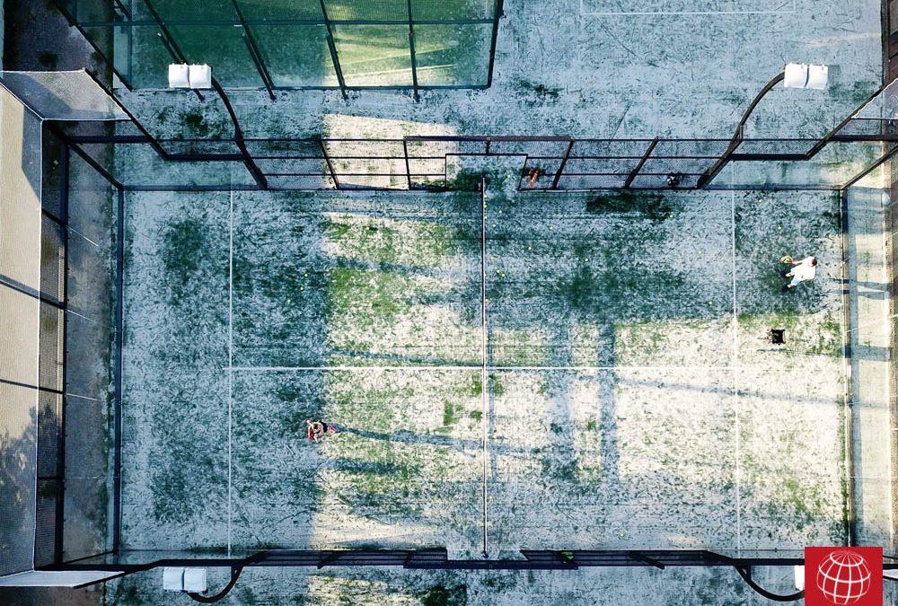 Maxpeed instala nuevas pistas en Club Tennis Arbúcies