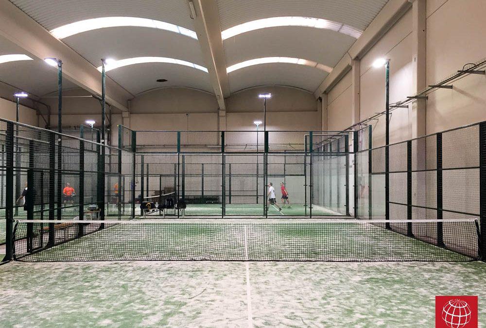 Maxpeed renueva con LEDs la iluminación de Pádel Indoor Reus