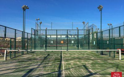 Nuestro césped Poliflex 12/28 llega al Club Tennis Torredembarra