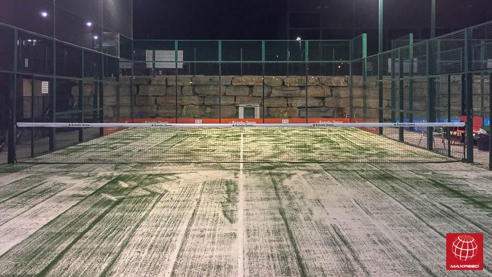 Nuevo césped en Club Tennis Badalona