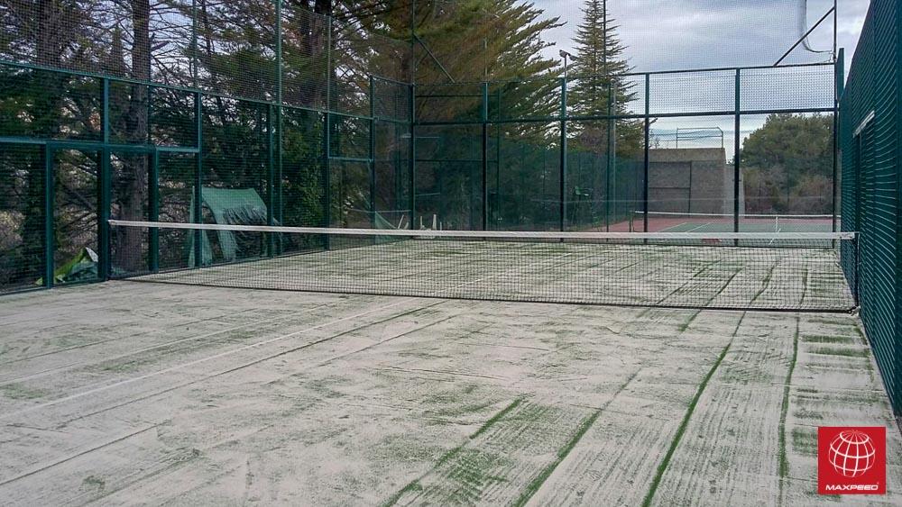 El Club de Tenis La Llacuna se apunta al césped Poliflex 12/28