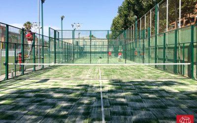 Renovación del césped en Modolell Sports