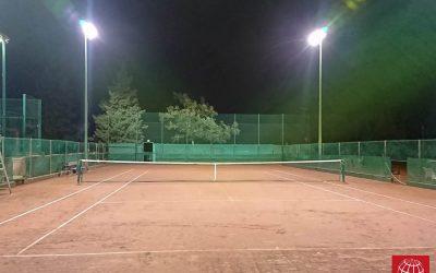Nueva iluminación en la pista 9 de Vall Parc