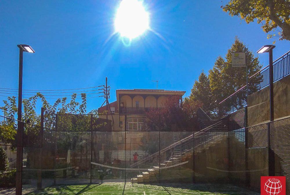 Padel Sant Jaume apuesta por la tecnología LED