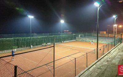Club Tennis Mora renueva su iluminación con LEDs