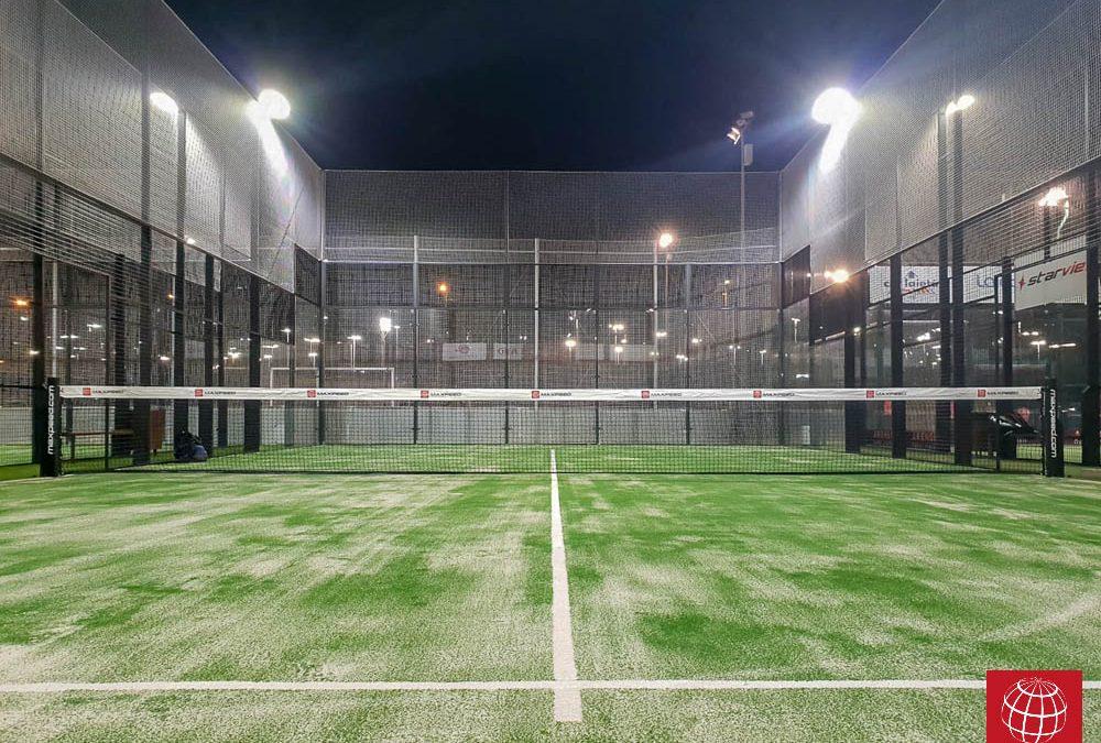 Nuevas pistas de pádel en Club Esportiu Laietà
