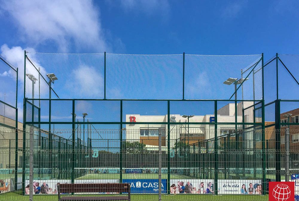 Nuevas redes de proteccion en Club Esportiu Gran Vía Mar