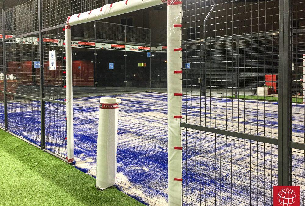 Artós Sports Club mejora una pista de pádel