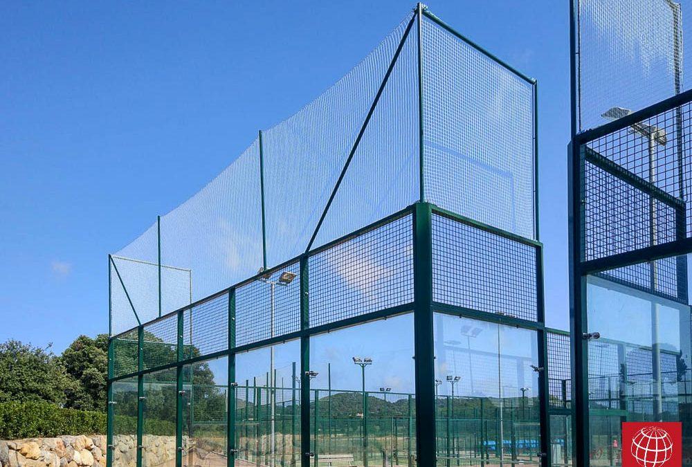 Nuevas redes de protección en Club Tennis Costa Brava