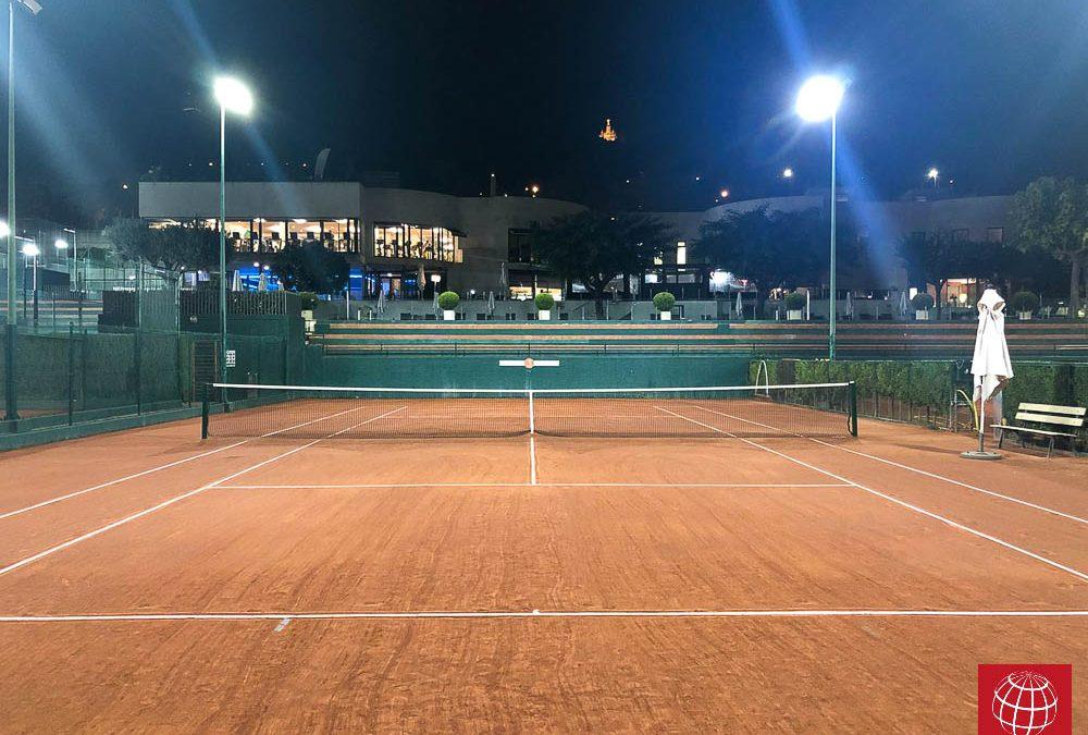Nueva iluminacion LED en Club Bonasport