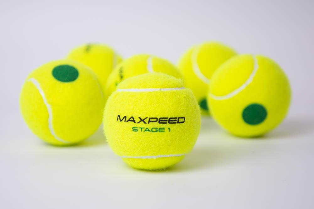 Maxpeed renueva su colección de pelotas de mini tenis