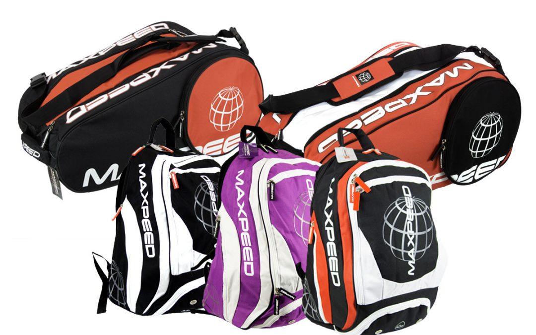 Nueva gama de mochilas y paleteros Maxpeed 2020
