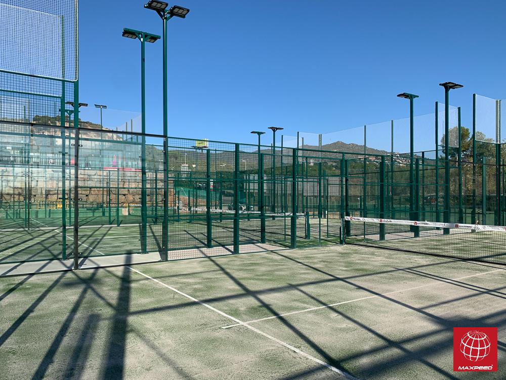 Tennis Club Badalona confía una vez más en Maxpeed e instala 3 nuevas pistas de pádel
