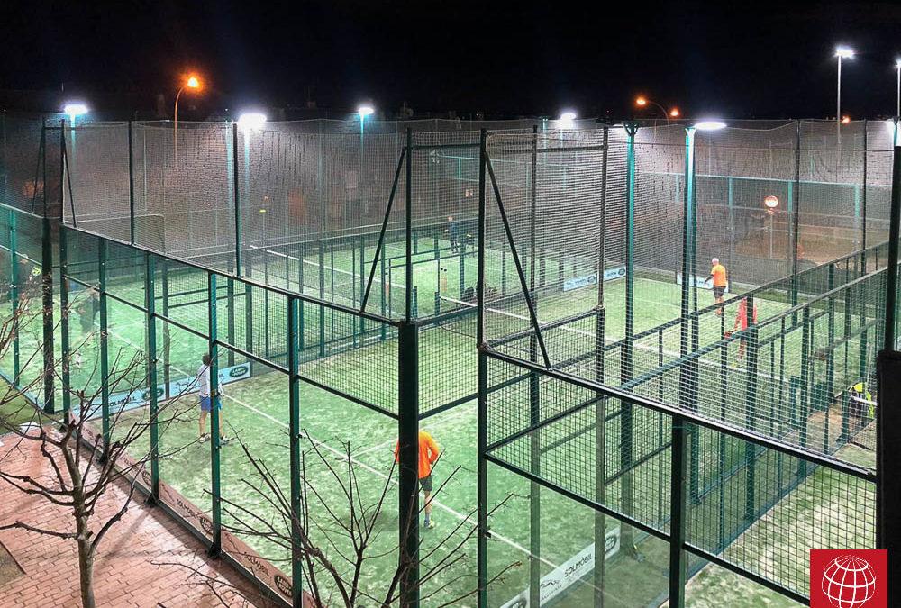 Club Tennis Sabadell confía de nuevo en Maxpeed by Enerluxe para iluminar sus pistas de pádel