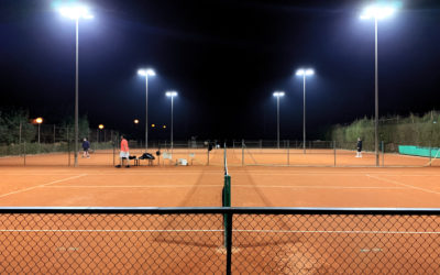 El Club Tennis Valls instala luces LED Maxpeed by Enerluxe